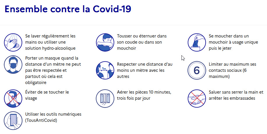 ensemble contre le covid 19